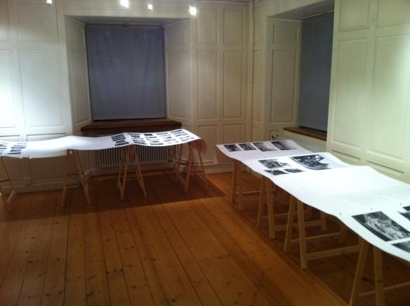 Der erste Ausstellungsraum im Kulturhaus Rosengarten